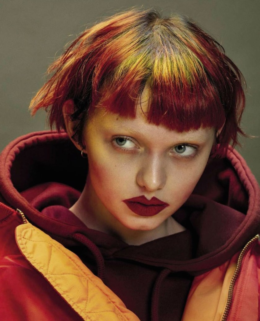 VOGUE ITALIA Next Generation Hair Portraits by Mario Sorrenti. Alastair McKimm, November 2016, www.imageamplified.com, Image Amplified1