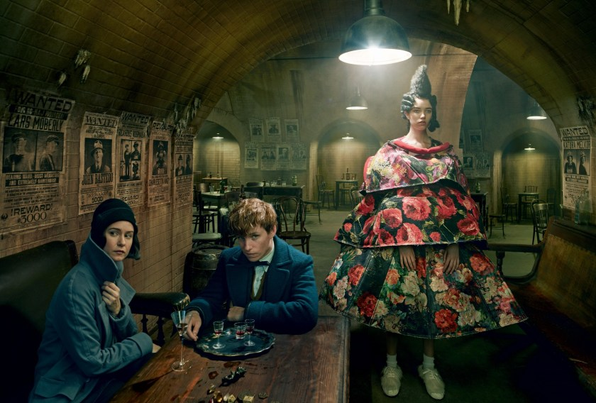 VOGUE MAGAZINE Fantastic Beasts and Where to Find Them by Annie Leibovitz. Grace Coddington, December 2016, www.imageamplified.com, Image Amplified5