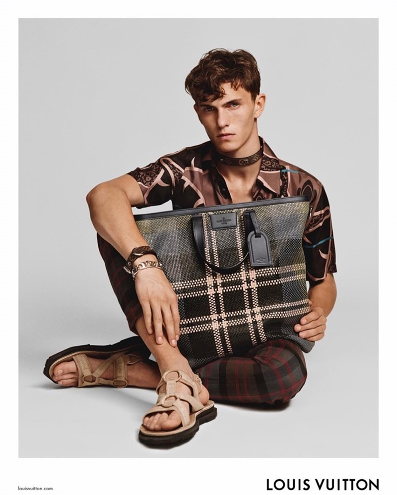 CAMPAIGN Luc Defont Saviard for Louis Vuitton Spring 2017 by Alasdair McLellan. Alister Mackie, www.imageamplified.com, Image Amplified1