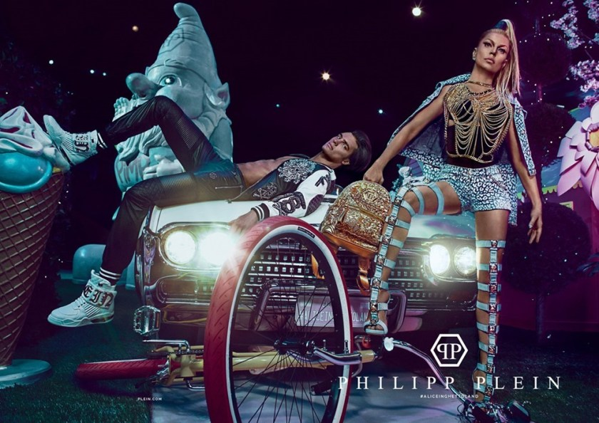 CAMPAIGN Matthew Terry & Fergie for Philipp Plein Spring 2017 by Steven Klein. www.imageamplified.com, Image amplified2