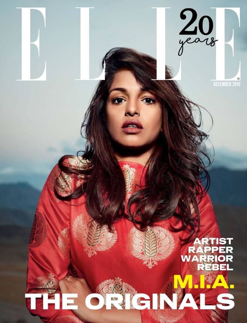 ELLE INDIA M.I.A. by Colton Julian. Nidhi Jacob, December 2016, www.imageamplified.com, image Amplified6