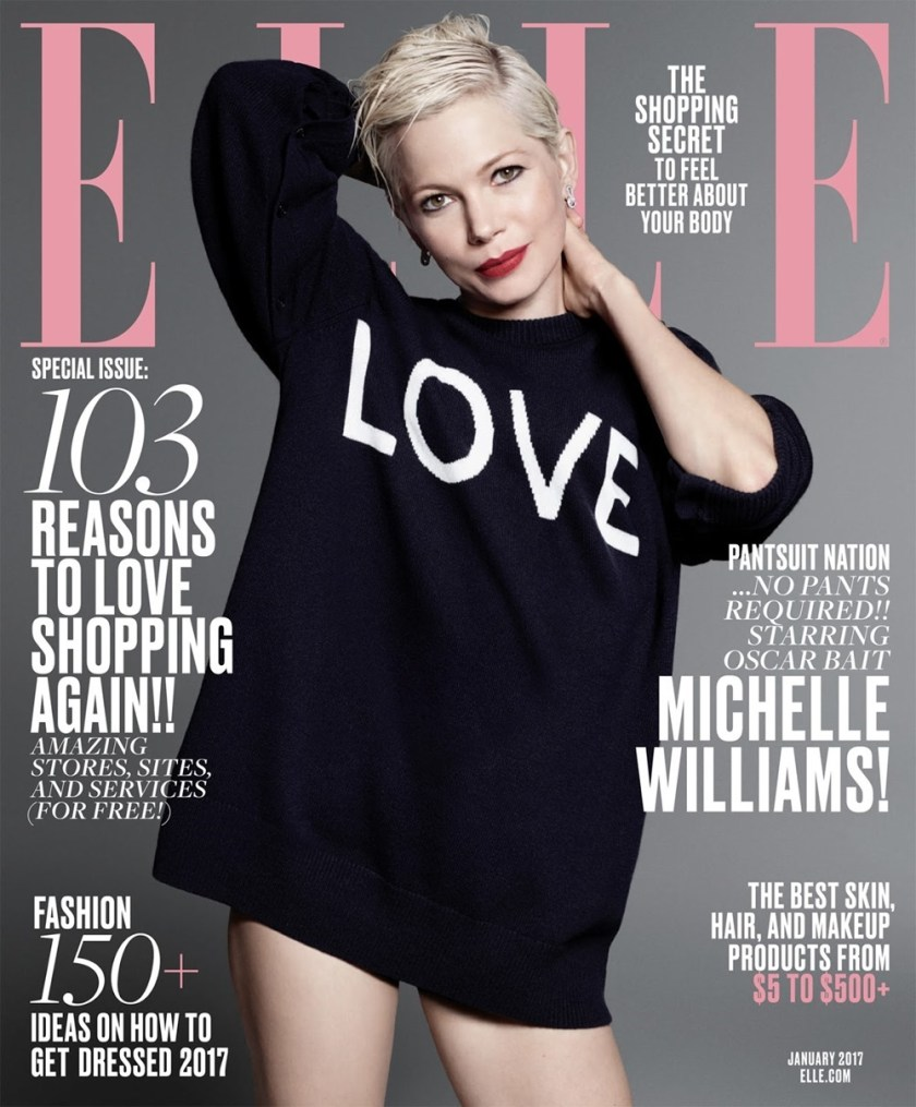 ELLE MAGAZINE Michelle Williams by Terry Tsiolis. Samir Nasr, January 2017, www.imageamplified.com, Image Amplified7