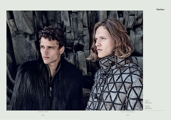 ESQUIRE CHINA Ryan Keating & Simon Nessman by Yossi Michaeli. Chen Bo, Fall 2016, www.imageamplified.com, Image amplified10