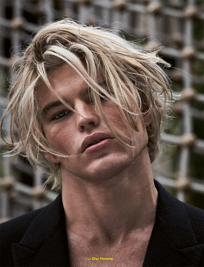 FUCKING YOUNG! MAGAZINE Jordan Barrett by Mariano Vivanco. Teddy Czopp, Fall 2016, www.imageamplified.com, Image Amplified12