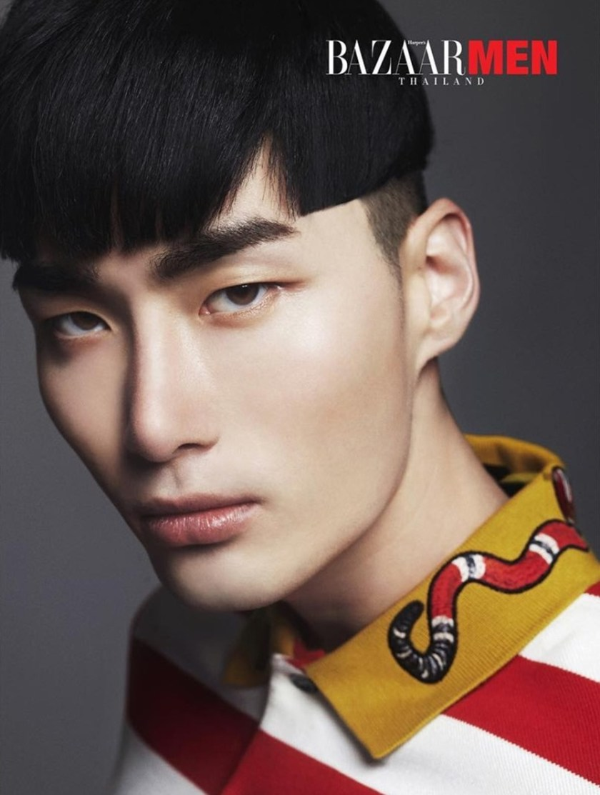 HARPER'S BAZAAR MEN THAILAND Noma Han by Mikey Asanin. Nan Nista Permpoon, Fall 2016, www.imageamplified.com, Image Amplified3