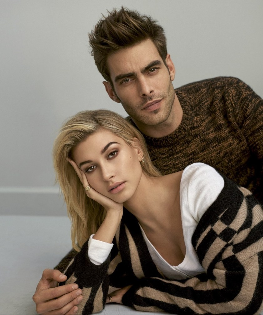 HARPER'S BAZAAR SPAIN Hailey Baldwin & Jon Kortajarena by Thomas Whiteside. Juan Cebrian, January 2017, www.imageamplified.com, Image amplified1