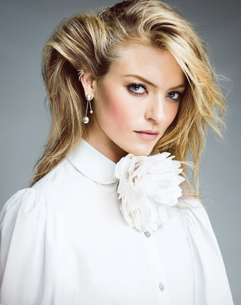 HARPER'S BAZAAR TURKEY Martha Hunt by Matallana. Sarah Gore Reeves, December 2016, www.imageamplified.com, Image Amplified2