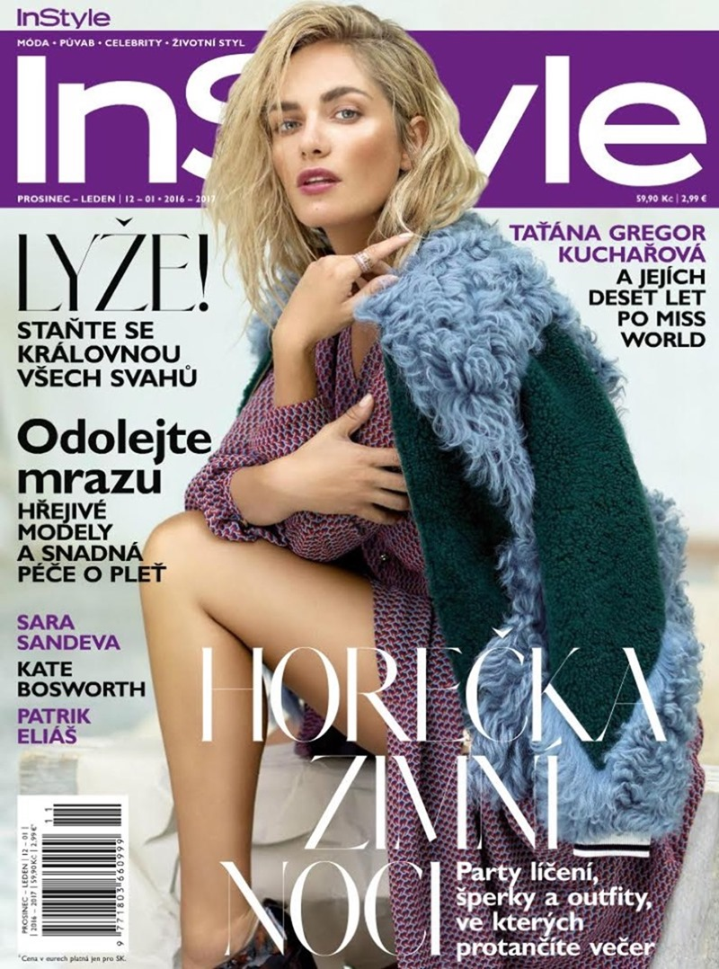 INSTYLE CZECH Tatana Kucharova by Paul de Luna. Milena Zhuravlova, December 2016, www.imageamplified.com, Image Amplified1