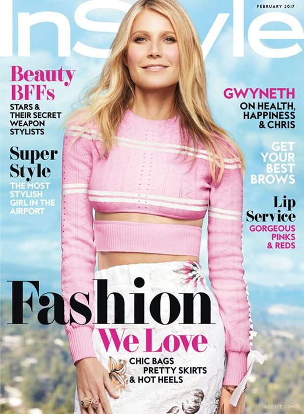 INSTYLE MAGAZINE Gwyneth Paltrow by Greg Kadel. February 2017, www.imageamplified.com, Image Amplified1