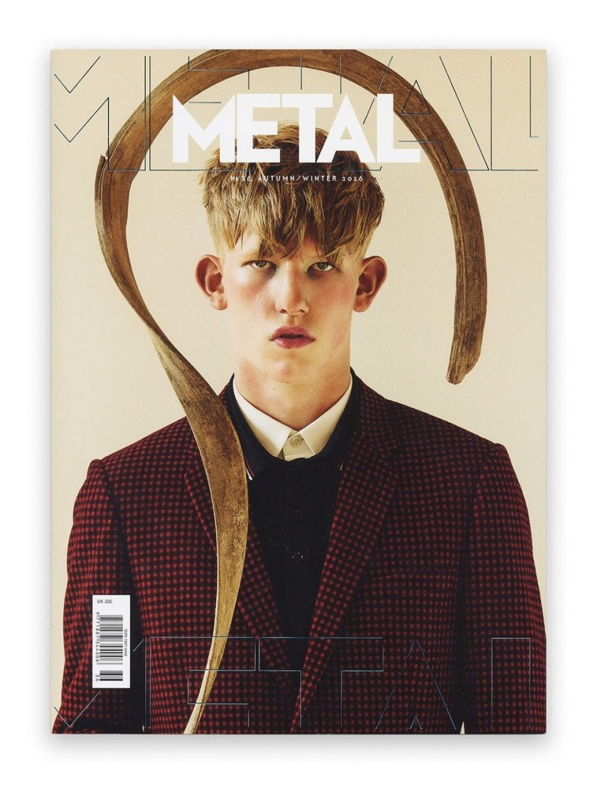 METAL MAGAZINE Connor Newall by Teddy Iborra Wicksteed. Fall 2016, www.imageamplified.com, Image Amplified2