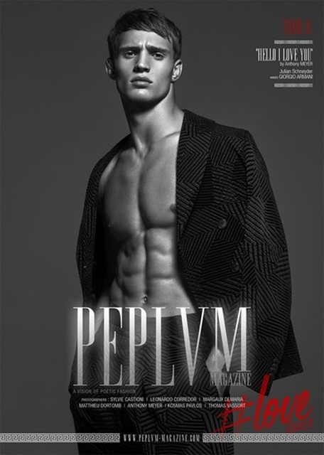 PEPLVM MAGAZINE Julian Schneyder by Anthony Meyer. Juliette Lecuyer, Aurore Donguy, Fall 2016, www.imageamplified.com, image Amplified2