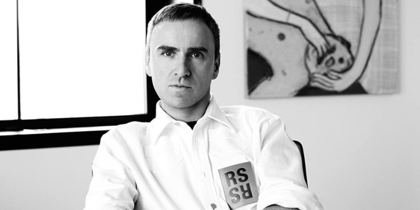 Raf Simons joins Calvin Klein. This confirmation made for some of the biggest headlines in fashion for 2016. Image Amplified www.imageamplified.com