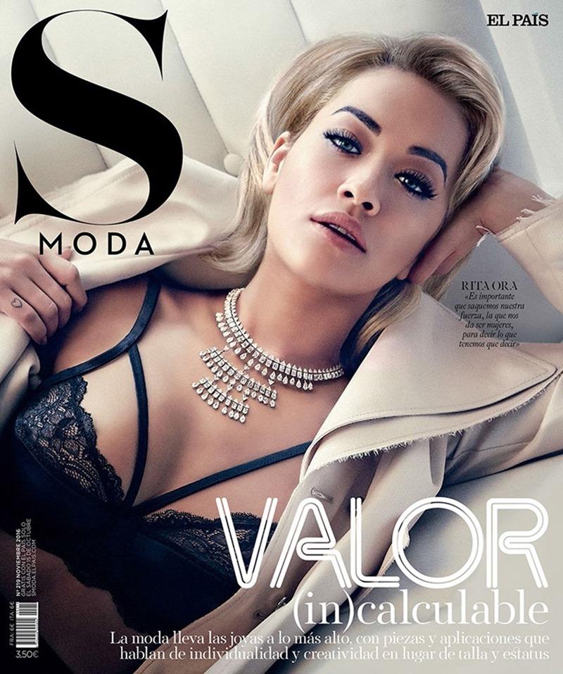 S MODA Rita Ora by JM Ferrater. Francesca Rinciari, November 2016, www.imageamplified.com, Image amplified1