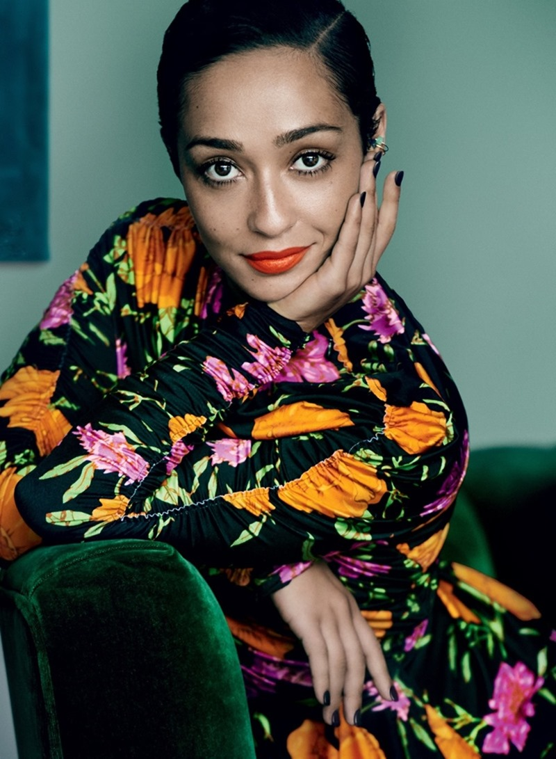 VOGUE MAGAZINE Ruth Negga by Mario Testino. Tonne Goodman, January 2017, www.imageamplified.com, Image Amplified4