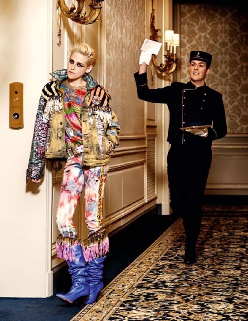 VOGUE PARIS Kristen Stewart by Karl Lagerfeld. Emmanuelle Alt, January 2017, www.imageamplified.com, Image Amplified3