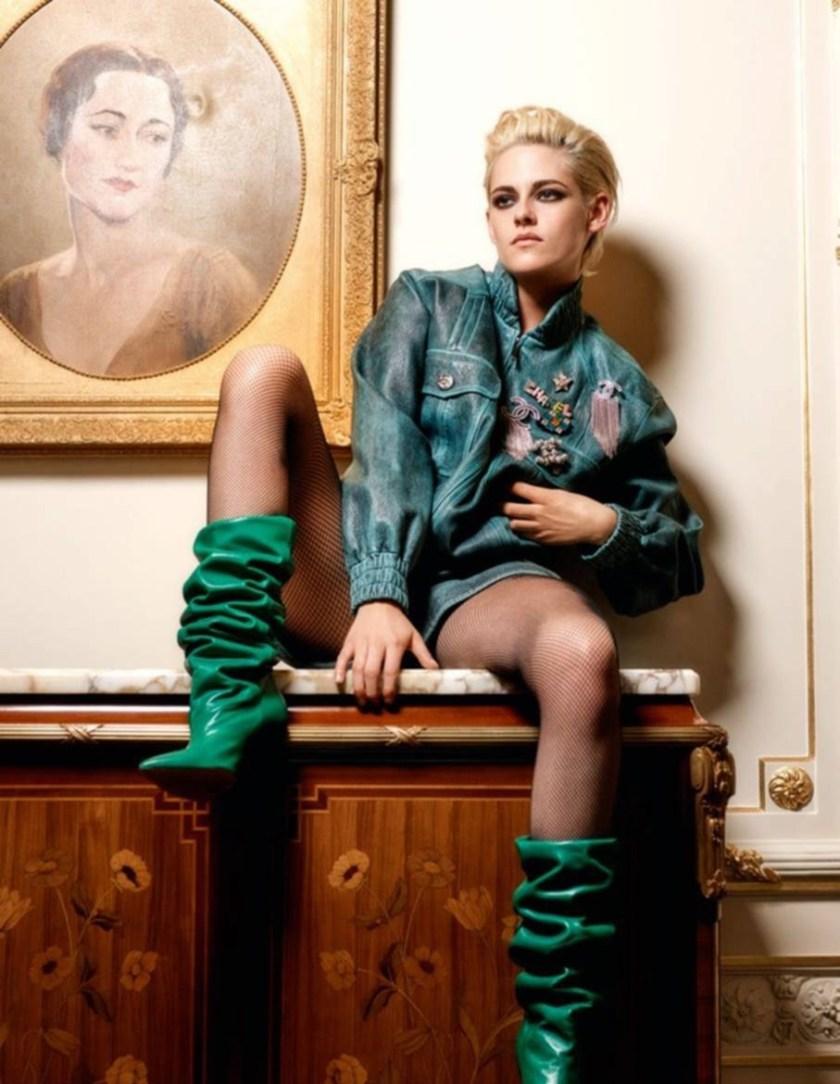 VOGUE PARIS Kristen Stewart by Karl Lagerfeld. Emmanuelle Alt, January 2017, www.imageamplified.com, Image Amplified6