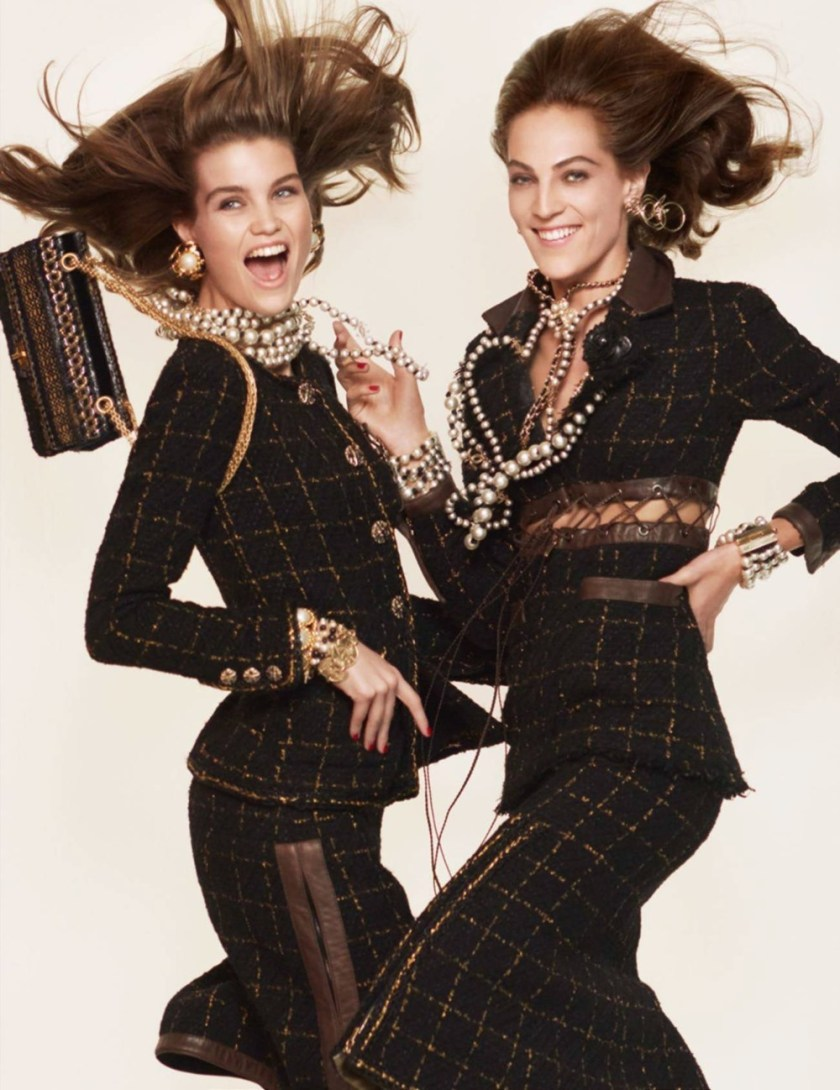 VOGUE PARIS Luna Bilj & Othilia Simon by David Sims. Emmanuelle Alt, January 2017, www.imageamplified.com, Image Amplified1