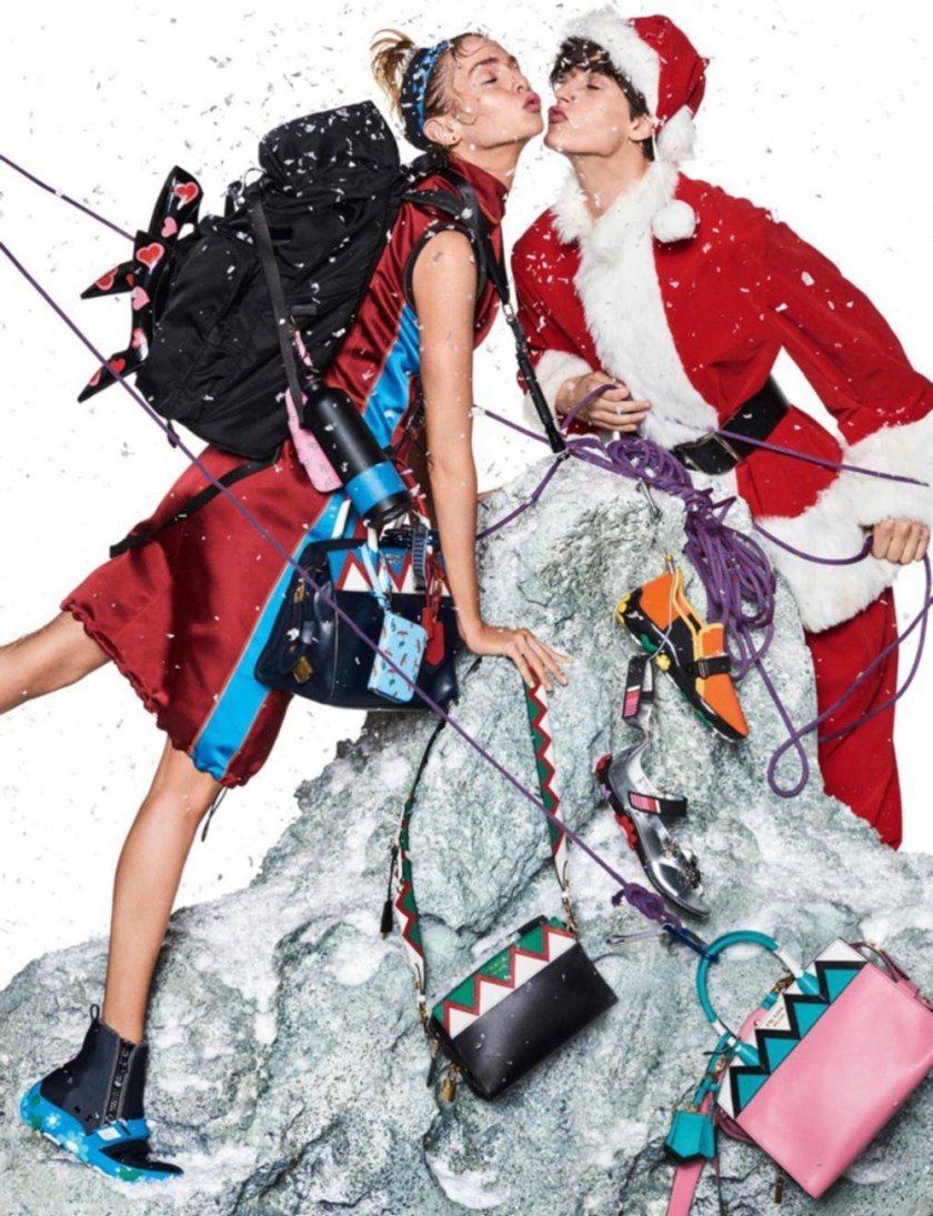 VOGUE PARIS Sara Sampaio & Stella Maxwell by Giampaolo Sgura. Claire Dhelens, December 2016, www.imageamplified.com, Image Amplified8