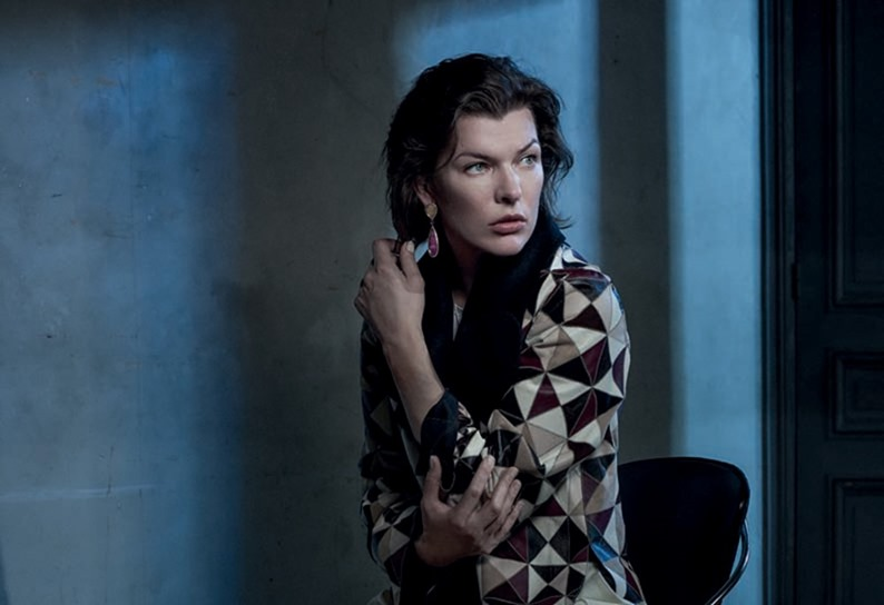 VOGUE PORTUGAL Milla Jovovich by Frederico Martins. Ana Campos, December 2016, www.imageamplified.com, Image Amplified4