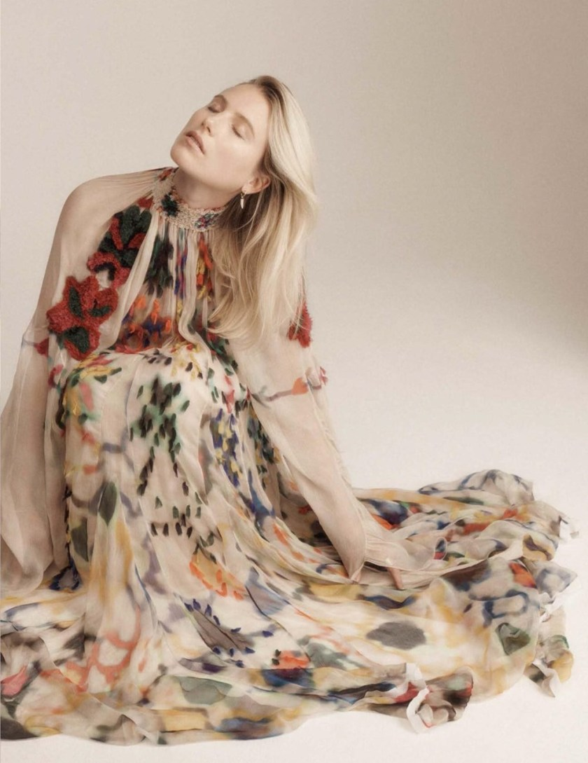 VOGUE SPAIN Dree Hemingway by Benny Horne. Sara Fernandez, January 2017, www.imageamplified.com, Image amplified2