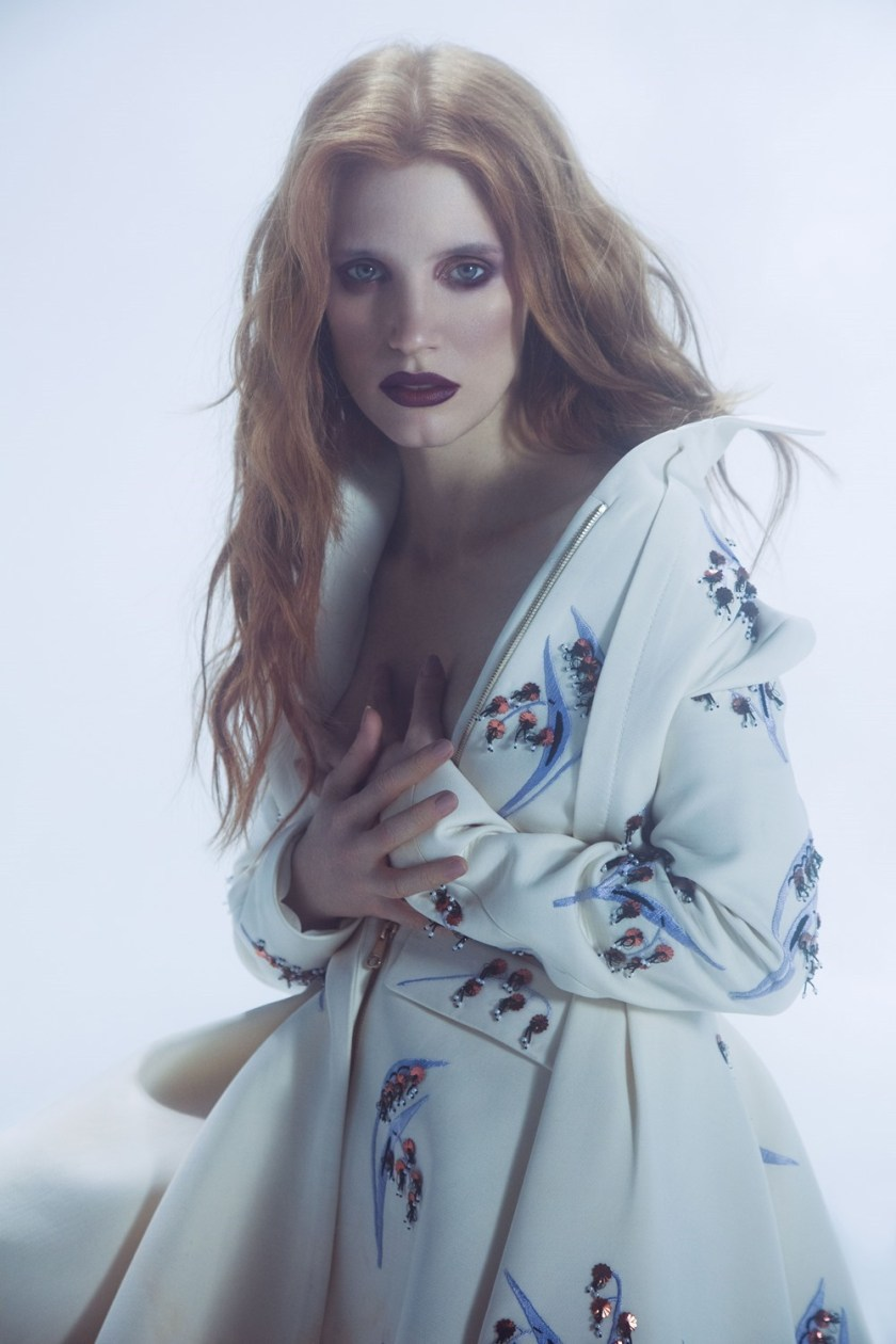 VOGUE UKRAINE Jessica Chastain by Susan Reljin. Rushka Bergman, December 2016, www.imageamplified.com, Image Amplified4