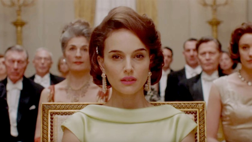 Natalie Portman, for her portrayal of Jacqueline Kennedy, is a frontrunner in Best Actress Oscar 2017 predictions. Image Amplified www.imageamplified.com