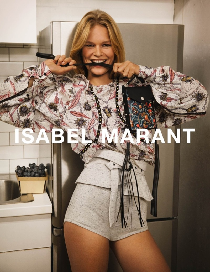 CAMPAIGN Anna Ewers by Isabel Marant Spring 2017 by Inez & Vinoodh. Geraldine Saglio, www.imageamplified.com, image Amplified5