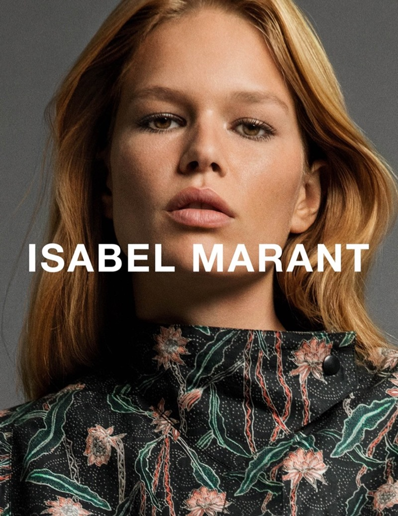 CAMPAIGN Anna Ewers by Isabel Marant Spring 2017 by Inez & Vinoodh. Geraldine Saglio, www.imageamplified.com, image Amplified7