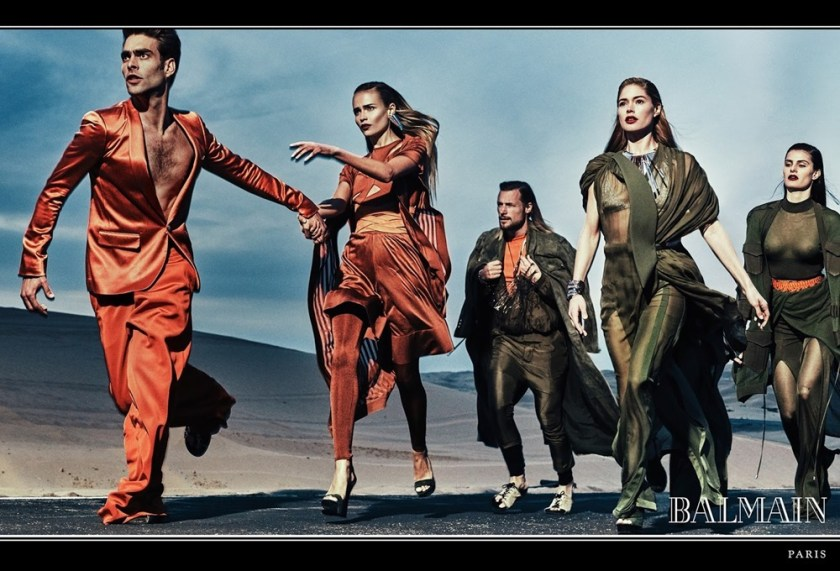 CAMPAIGN Balmain Spring 2017 by Steven Klein. www.imageamplified.com, Image Amplified3