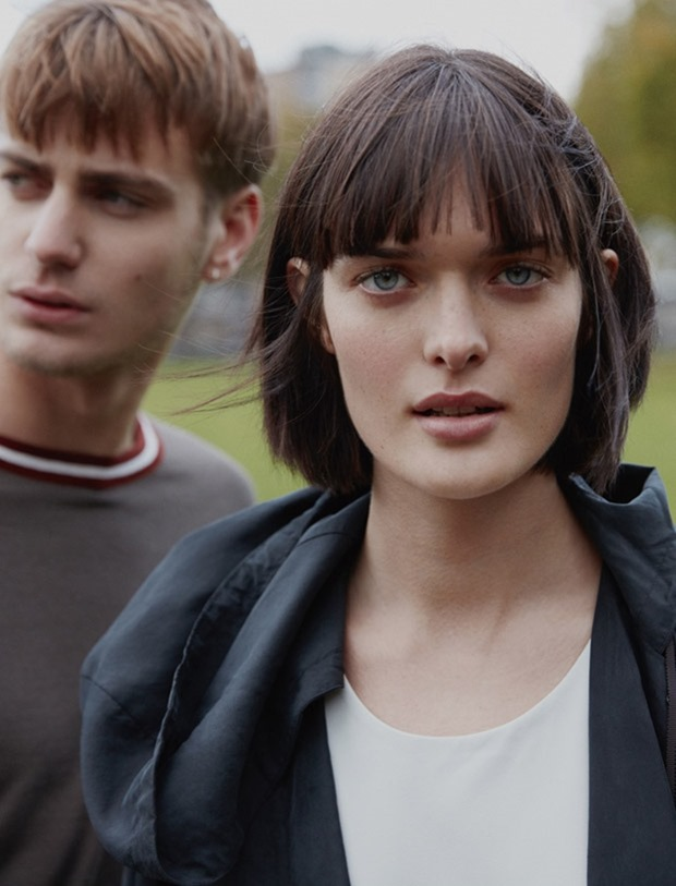 CAMPAIGN Ben Allen & Sam Rollinson for Blue Erdos Spring 2017 by Jumbo Tsui. Verity Parker, www.imageamplified.com, image Amplified3