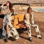 CAMPAIGN: Emily Ratajkowski & Sasha Pivovarova for TwinSet Spring 2017 by Giampaolo Sgura