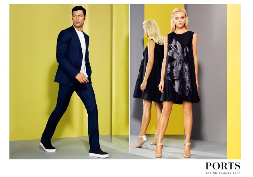 CAMPAIGN Marian Kurpanov & Viktoriya Sasonkina for Ports 1961 Spring 2017 by Stockton Johnson. Daniel Edley, www.imageamplified.com, Image Amplified2