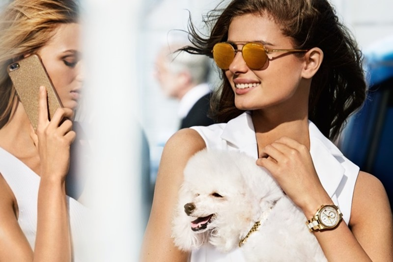 CAMPAIGN Taylor Hill & Romee Strijd for Michael Kors Spring 2017 by Mario Testino. www.imageamplified.com, Image Amplified3