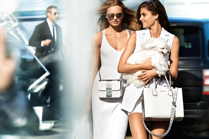 CAMPAIGN Taylor Hill & Romee Strijd for Michael Kors Spring 2017 by Mario Testino. www.imageamplified.com, Image Amplified2