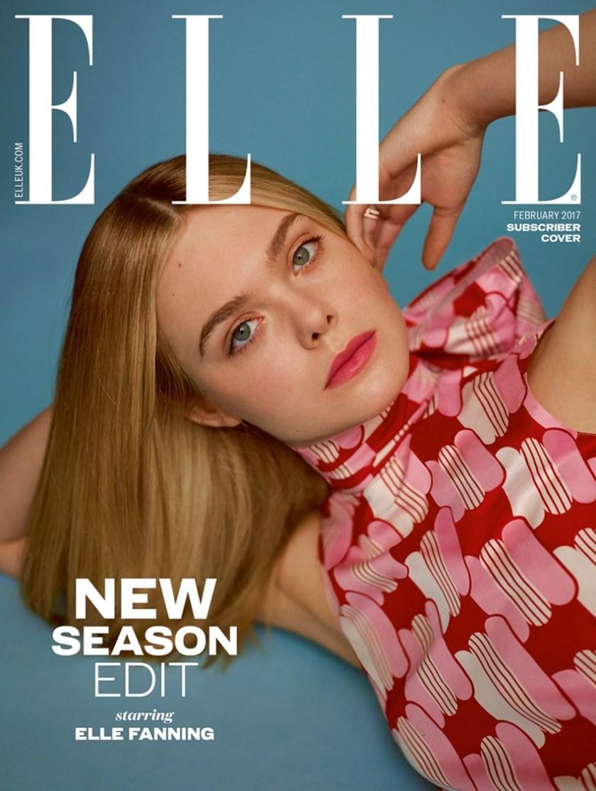 ELLE UK Elle Fanning by Thomas Whiteside. Alison Edmond, February 2017, www.imageamplified.com, Image Amplified9