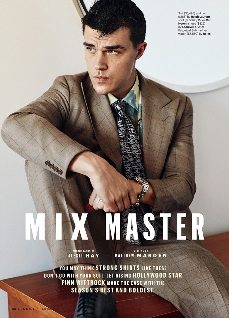 ESQUIRE MAGAZINE Finn Wittrock by Alexei Hay. Matthew Marden, February 2017, www.imageamplified.com, Image Amplified8
