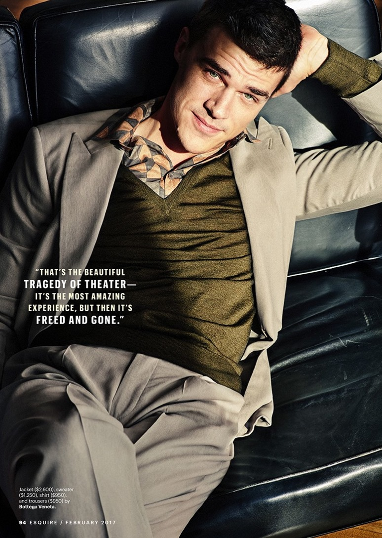 ESQUIRE MAGAZINE Finn Wittrock by Alexei Hay. Matthew Marden, February 2017, www.imageamplified.com, Image Amplified2