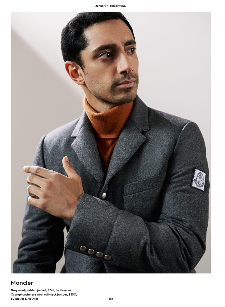 ESQUIRE UK Riz Ahmed by Pelle Crepin. Chris Benns, February 2017, www.imageamplified.com, image Amplified6