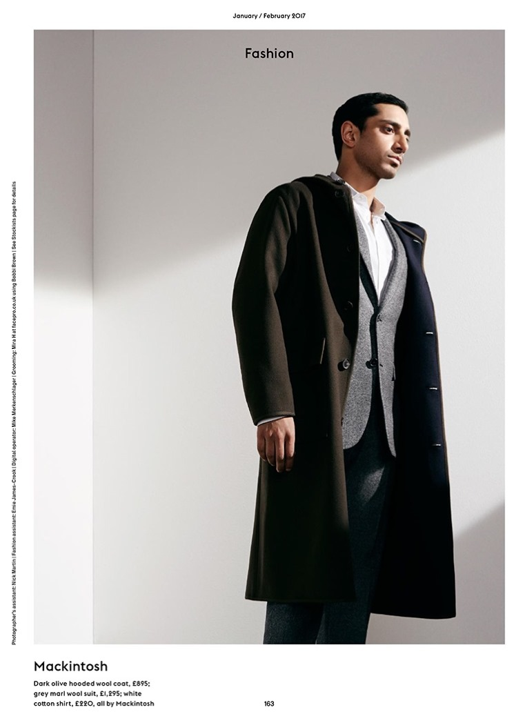 ESQUIRE UK Riz Ahmed by Pelle Crepin. Chris Benns, February 2017, www.imageamplified.com, image Amplified7
