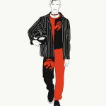 FASHION ILLUSTRATIONS: London Collections Men Fall Winter 2017 by JET