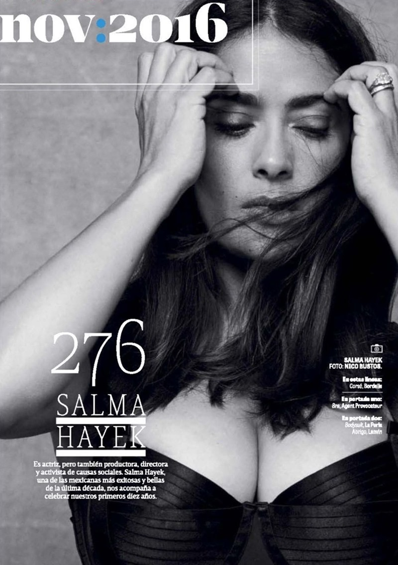 GQ MEXICO Salma Hayek by Nico Bustos. Maya Zepnic, November 2016, www.imageamplified.com, image Amplified3