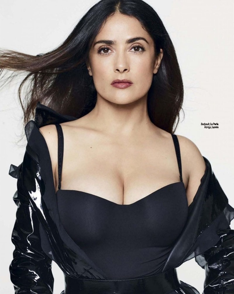 GQ MEXICO Salma Hayek by Nico Bustos. Maya Zepnic, November 2016, www.imageamplified.com, image Amplified6