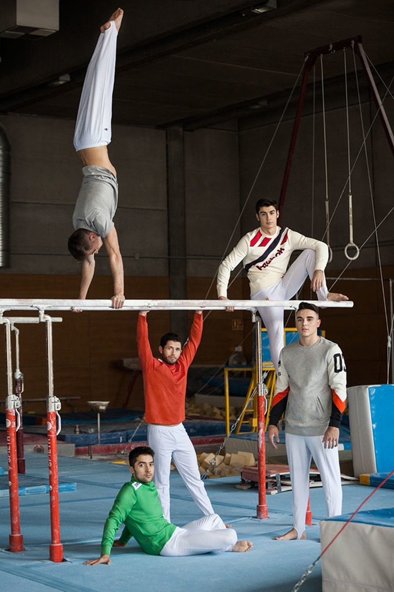 ICON MAGAZINE Gimnastics Federation for the Olympics by Gorka Postigo. Nono Vazquez, January 2017, www.imageamplified.com, Image Amplified3