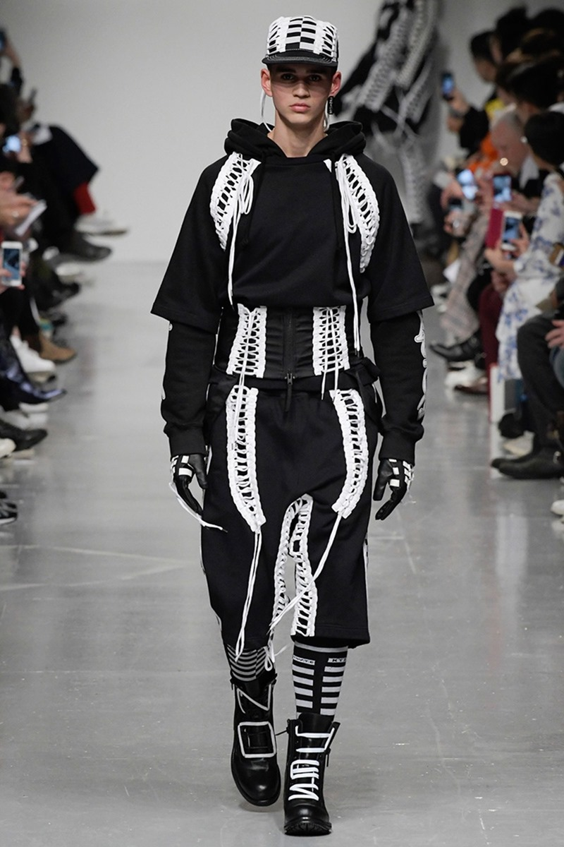 LONDON COLLECTION MEN KTZ Fall 2017. www.imageamplified.com, Image Amplified1