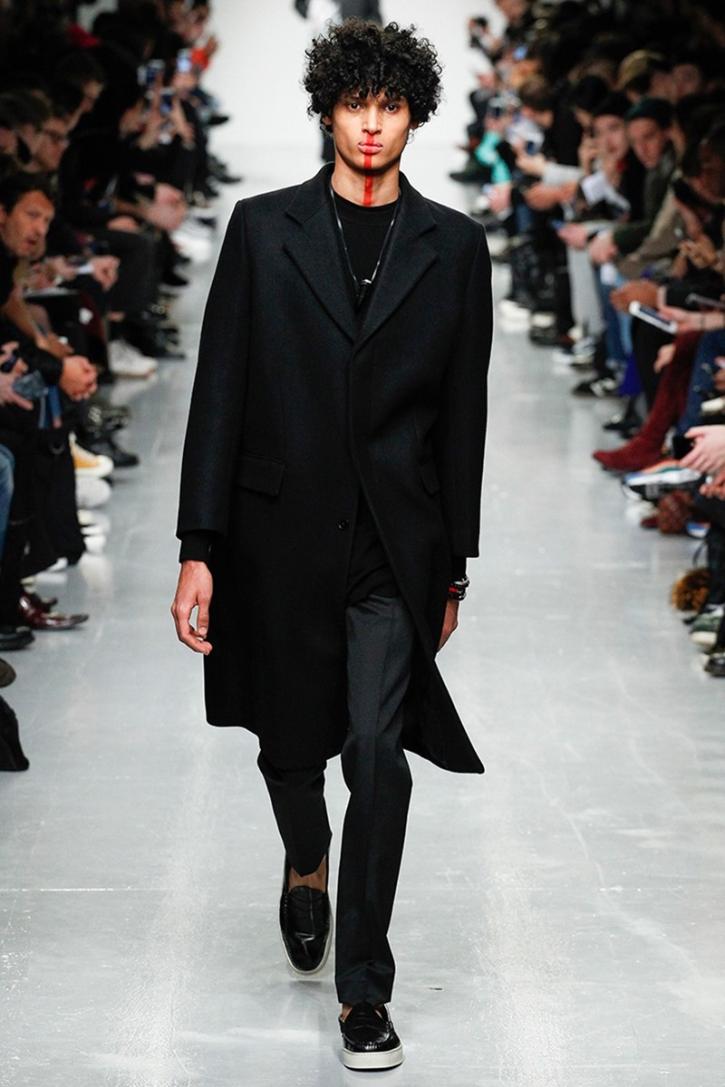 LONDON COLLECTION MEN Matthew Miller Fall 2017. www.imageamplified.com, Image Amplified1