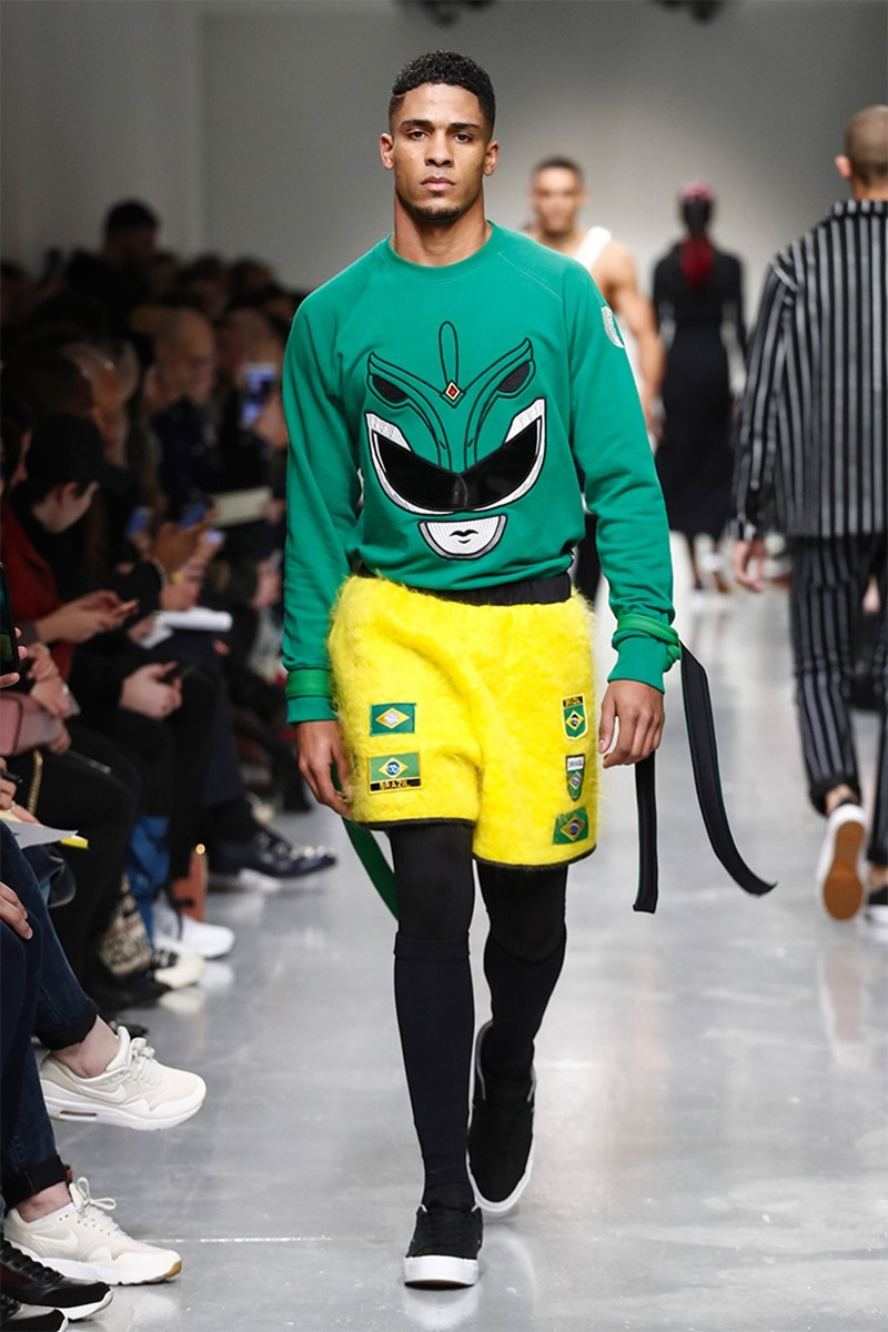 LONDON COLLECTIONS MEN Bobby Abley Fall 2017. www.imageamplified.com, image Amplified17