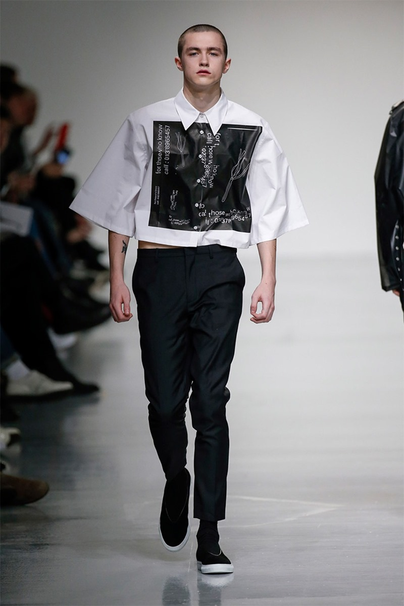 LONDON COLLECTIONS MEN Xander Zhou Fall 2017. www.imageamplified.com, image Amplified7