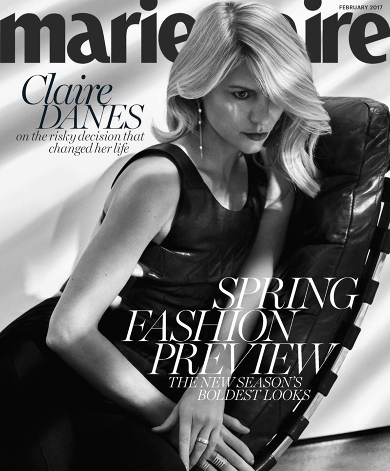 MARIE CLAIRE MAGAZINE Claire Danes by Txema Yeste. Alison Edmond, February 2017, www.imageamplified.com, Image Amplified3