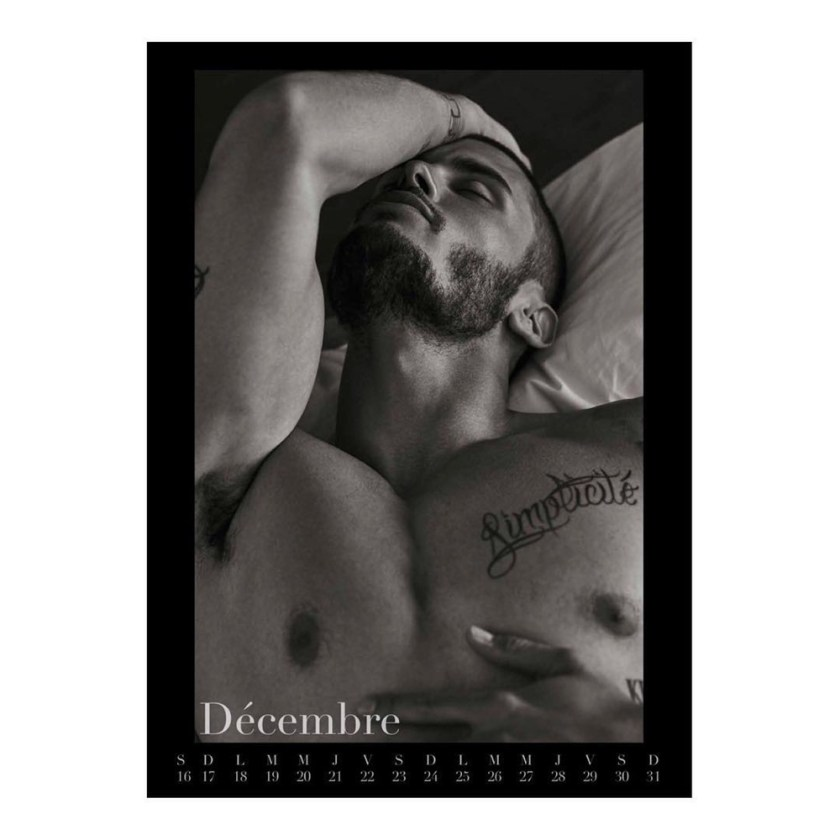 MASCULINE DOSAGE Baptiste Giabiconi for Le Calendrier 2017 by Mariano Vivanco. www.imageamplified.com, Image Amplified3