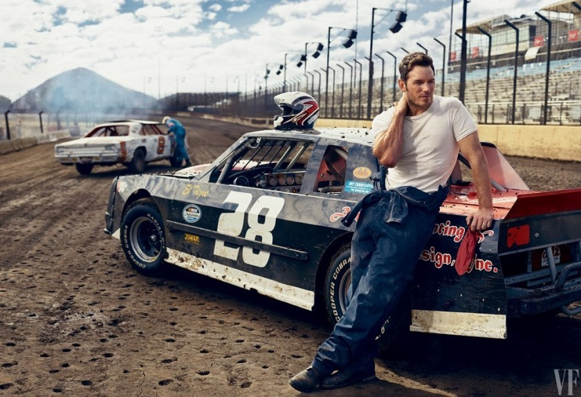 VANITY FAIR MAGAZINE Chris Pratt by Mark Seliger. February 2017, www.imageamplified.com, Image amplified3